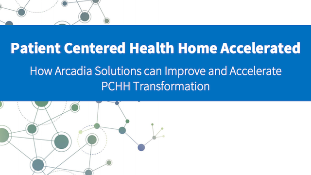 White Paper - Patient Centered Medical Home - Accelerated
