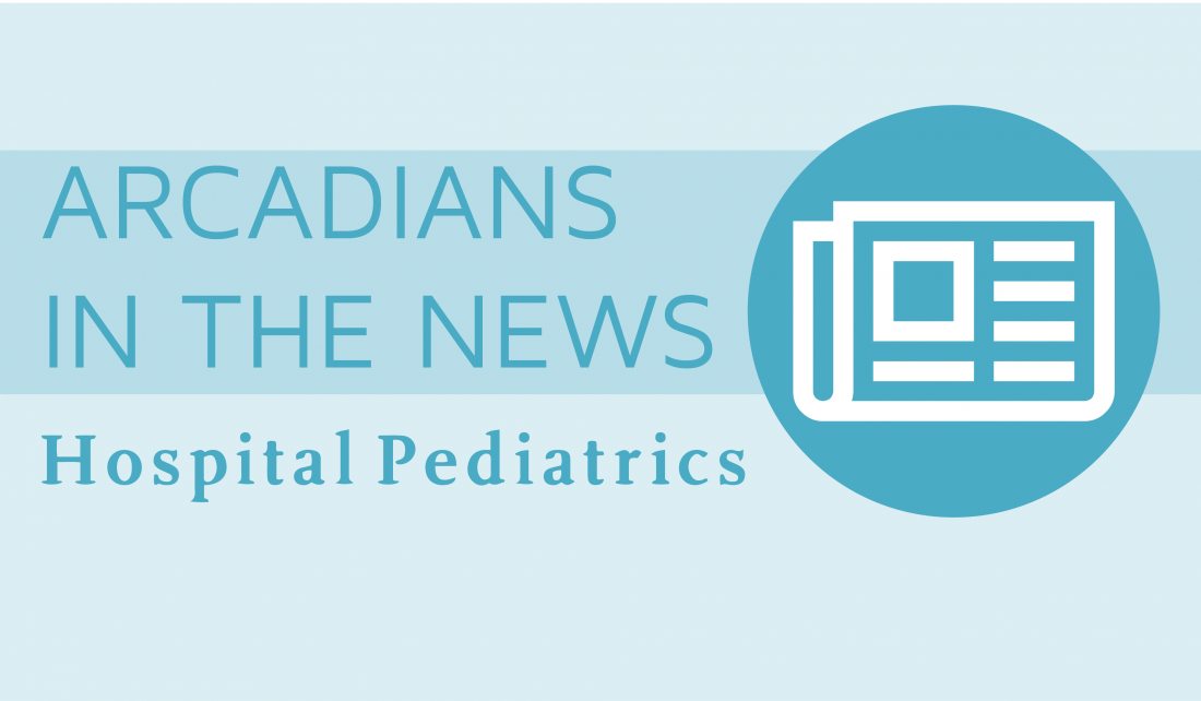 Arcadian Chris Boehmer Published in Hospital Pediatrics
