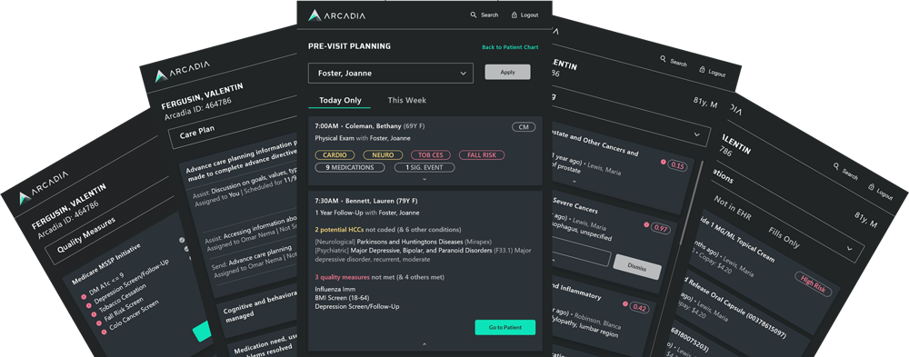 Arcadia Desktop: Point of Care Insights